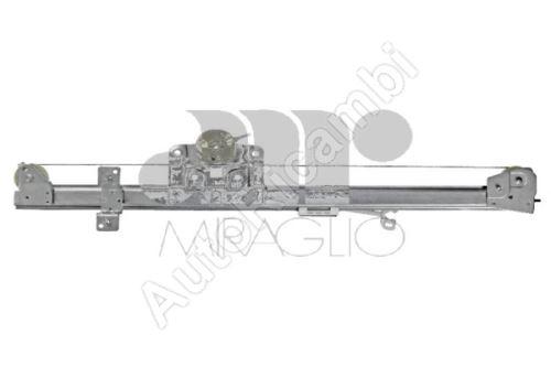 Mechanizmus sťahovania okna Fiat Ducato 250, 2014> pravý el. (2-pin) bez motorčeka