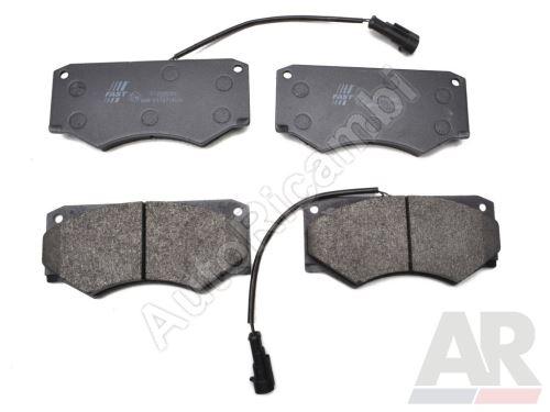 Brzdové doštičky Iveco TurboDaily 35-12, 45-12