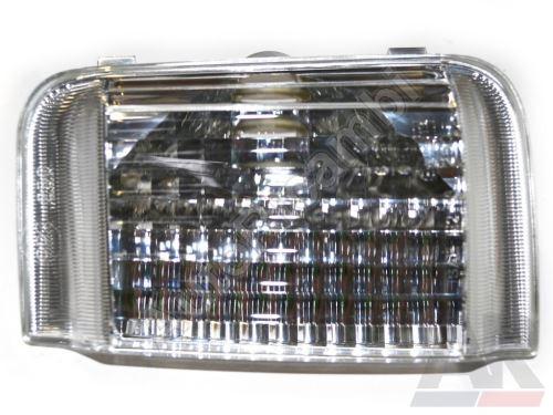 Smerovka zrkadla Fiat Ducato 250 pravá číra - pre oranž žiarovku 5W