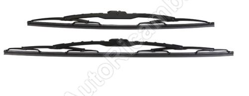 Wiper Fiat Doblo 2000-2016 set 530/450 mm
