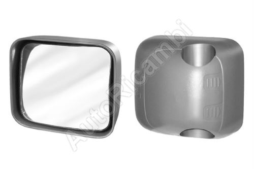 Mirror Iveco EuroCargo Restyling, angle, manual, 188x214mm