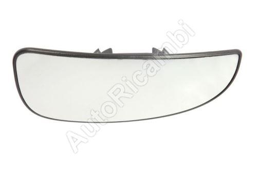 Sklo spätného zrkadla Fiat Ducato od 2006 pravé, spodné, vyhrievané