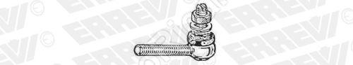 Čap regulátora výšky Iveco EuroCargo M8x1,25 mm ľavý závit