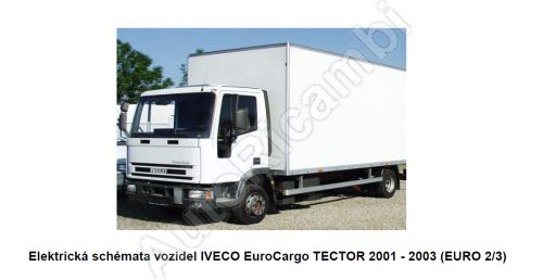 Elektrické schémy Iveco EuroCargo Tector E2/3 (PDF)