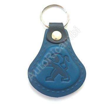 Kľúčenka Peugeot kožená