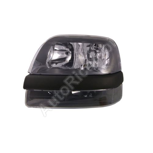 Headlight Fiat Doblo 2000-05 front, left, without foglamp, without motor
