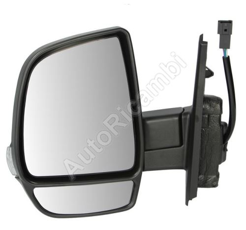 Mirror Fiat Doblo 2010> left, electric, heated, 6-pin