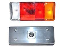 Zadné svetlo Iveco Daily 2000 Truck - valník pravé