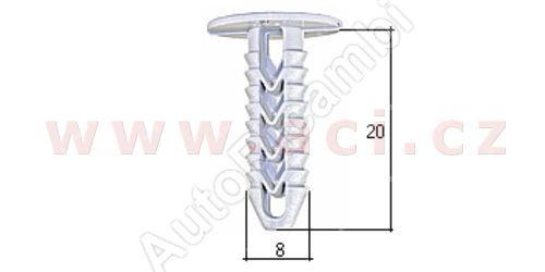 Plastic clip (10pcs.)