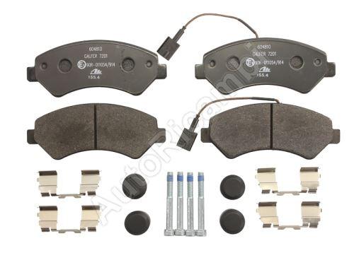 Brzdové doštičky Fiat Ducato od 2006 predné Q17H, 2-snímače, s príslušenstvom