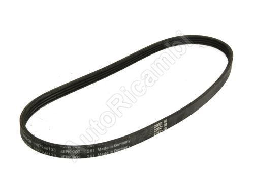 Drive Belt Iveco Daily 3,0, elastic belt without pulley