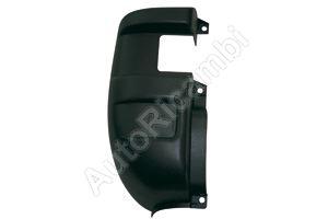 Bumper corner Iveco Daily rear left black