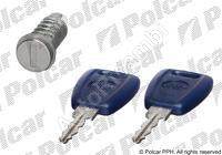 Door lock barrel Fiat Doblo + 2 keys
