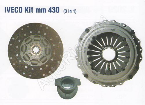 Clutch kit Iveco Stralis Cursor 430mm