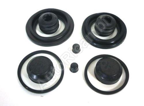 Brake caliper rubber bands Fiat Ducato 230/244/250/2014> Q11/15 set 44/48mm