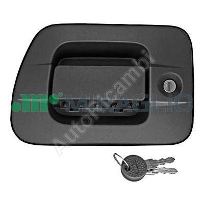 Door handle Iveco Stralis, EuroCargo Rest. left with insert