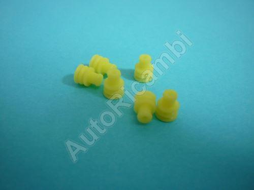 Gumička kábla vodotesná žltá - prechodka
