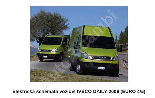 Wiring diagrams Iveco Daily 2006 E4 / 5 (PDF)