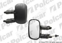 Mirror Fiat Doblo 2000-10 left, manual, black