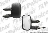 Zrkadlo Fiat Doblo 2000-10 ľavé, manuálne, čierné