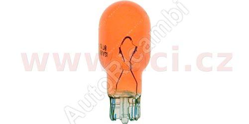 Žiarovka 12V 18W do smerovky zrkadla Iveco Daily oranžová