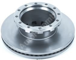 Brake disc Iveco EuroCargo, Stralis with ABS