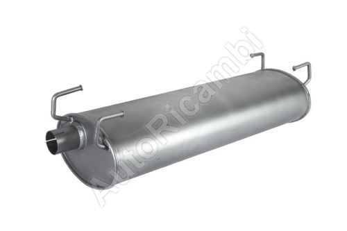 Exhaust silencer Iveco Daily 2000 oval