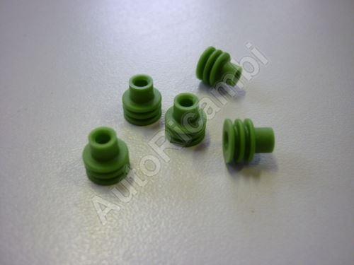 Gumička kábla vodotesná zelená - prechodka