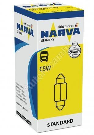 Žiarovka 24V 5W C5W sulfitová