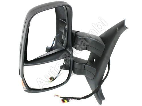 Spätné zrkadlo Iveco Daily 2006-2014 ľavé krátke elektrické so snímačom, 11-PIN
