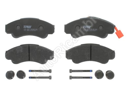 Brake pads Fiat Ducato 02> front
