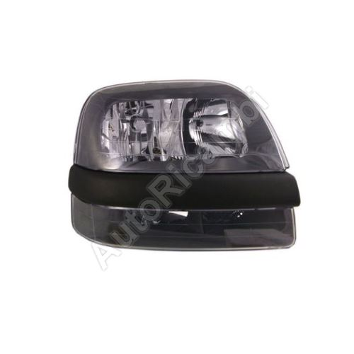 Headlight Fiat Doblo 2000-05 front, right, without foglamp, with motor