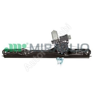 Window mechanism Fiat Doblo 2010> front, right, with motor