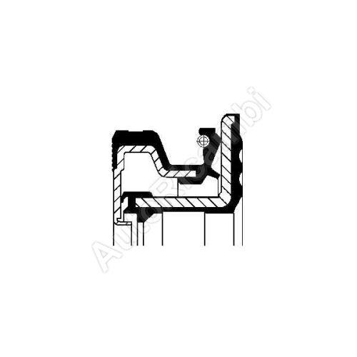 Gufero náboja Iveco TurboDaily 4x4  70x100x13,5/15mm zadný