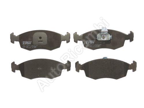 Brake pads Fiat Doblo 00> front