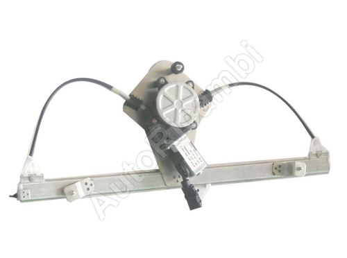 Window lifter mechanism Fiat Doblo 2000-10 electric, left