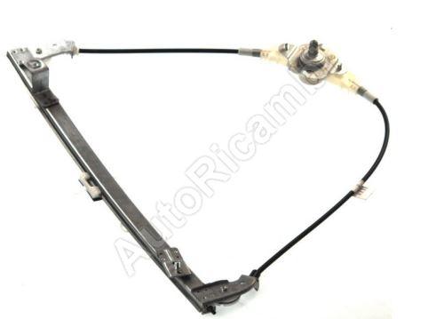 Window lifter mechanism Fiat Doblo 2000-10 manual, left