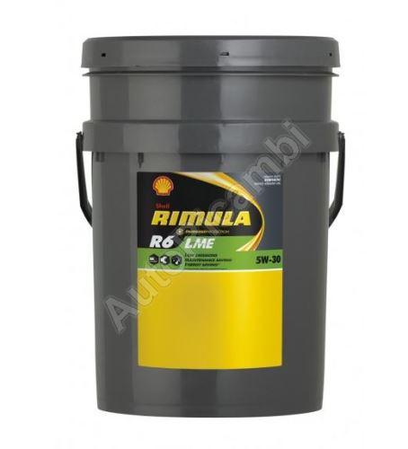 Motor oil Shell Rimulla R6 LME 5w30 20l - SAE 228.51