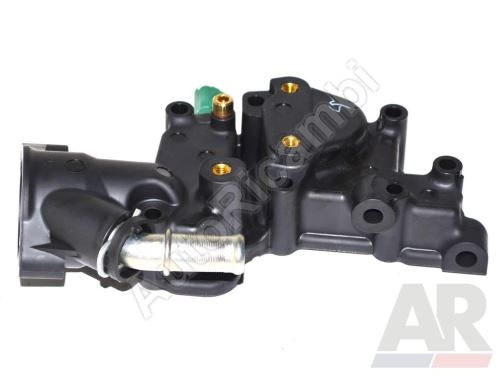 Thermostat housing Fiat Fiorino 07> 1,4