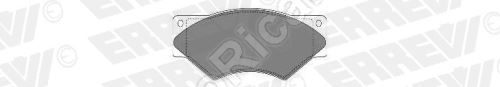Brake pads Iveco TurboDaily 59.12 front