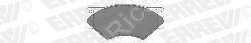 Brzdové doštičky Iveco TurboDaily 59.12 predné