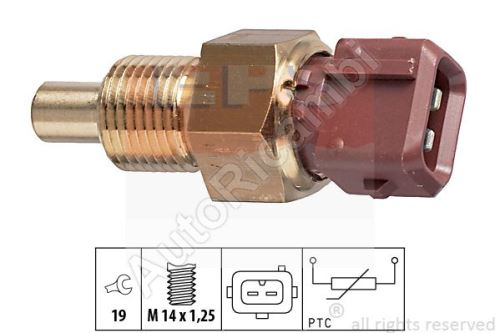 Water temperature sensor Fiat Ducato 230