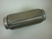 Rúra výfuku Iveco Tector - pružný diel 2 vrstvy 75x250mm