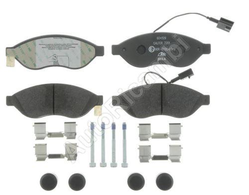 Brzdové doštičky Fiat Ducato 250/2014> predné Q11-17L - dva senzory