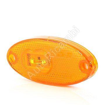 Pozičné svetlo oranžové, LED