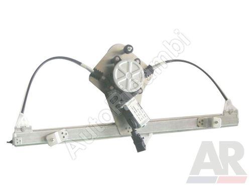 Mechanizmus sťahovania okna Fiat Doblo 2000–09 el. ľavý