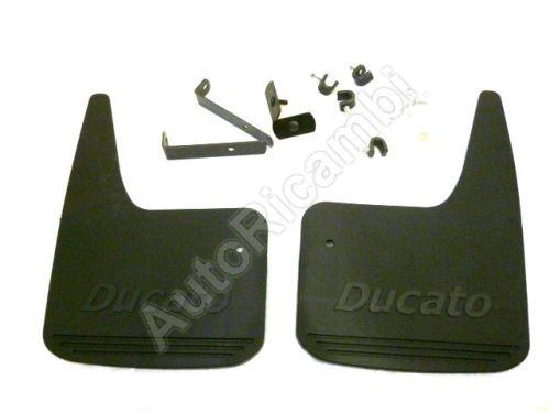 Zásterky predné Fiat Ducato 244 s nápisom Ducato - sada