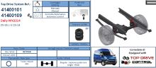 Doplnkové pruženie Iveco Daily 2014 s kompresorom 29-35L/S-10-18