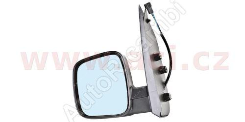 Spätné zrkadlo Fiat Fiorino 2007– ľavé, elektrické, vyhrievané