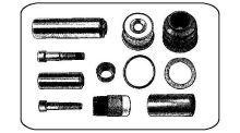 Brake caliper repair kit Iveco EuroCargo 120E